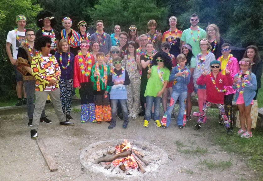 DPSG Pfadfinder verbringen ihr Sommerlager im Breisgau